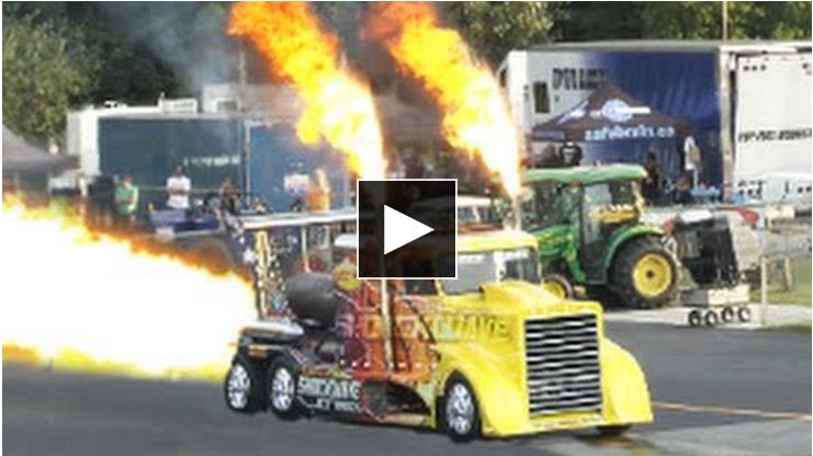 Une Course De Camions De 60 000 Chevaux Onic