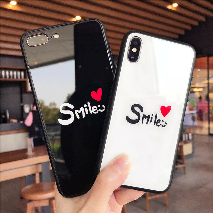 coque iPhone X smile