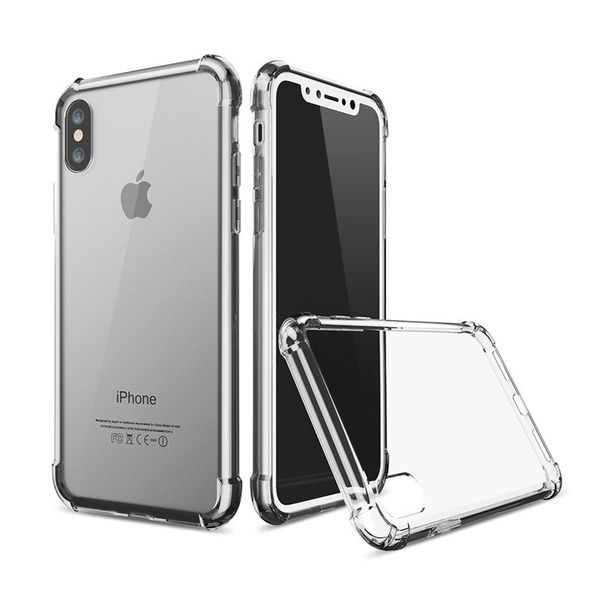 coque iPhone X transparente